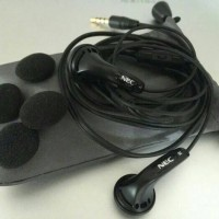 Brand New Earphone NEC with Mic Handsfree, SENNHEISER Quality Bass