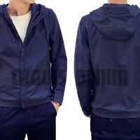 daftar fashion | korean style | blue hoodie