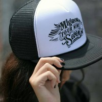 harga Topi / Hat distro mignon 479 original hitam putih Tokopedia.com