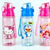 Jual Botol Minum Anak Karakter Hello Kitty / Botol Minum Doraemon 600ml Murah