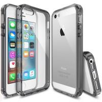 Rearth iPhone SE / 5s / 5 Case Ringke Fusion Smoke Black