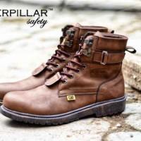Sepatu Pria Touring Caterpillar Aliando Safety Terlaris / Termurah #1