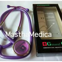 Stetoskop GC Ekonomis Dewasa Full Color Ungu / Purpe Full Murah / Unik