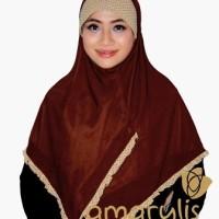 Jilbab Instan Classic Frill Series ukuran M