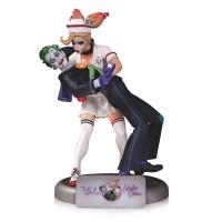 DC Comics Bombshells The Joker And Harley Quinn Statue