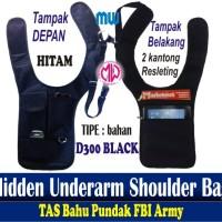 Harga hidden underarm shoulder bag tas gadget pundak anti maling | antitipu.com