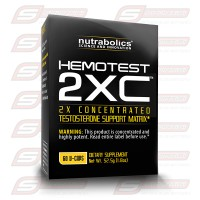 Hemotest 2XC 60 Caps Nutrabolics