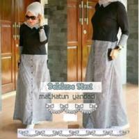 Baju Muslim Gamis Wanita Maxi Maxy Hijaber Style - Belaluna Long Dress