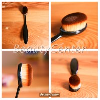 Jual Oval Foundation Face Brush (Make Up Brush) / Bulu Lembut Murah
