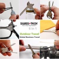 Swiss Tech Utility-key 6-in-1