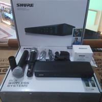 Mic Wireless Shure Blx-288cn Pg58 (2peggang)