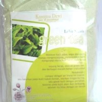 Lulur Bubuk Green Tea 100 Gram