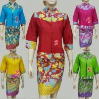 DRESS BATIK MBTD790 BOLERO (Kemeja Batik, Batik Kerja, Batik Pesta)
