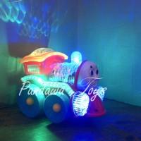 Jual (PROMO) Kereta Api Thomas musik dan lampu/Kereta Kepala Thomas Diecast Murah