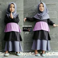 baju muslim gamis anak lucu warna ruffle oribymb