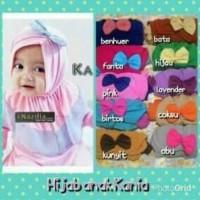 Jilbab / Bergo / Kerudung / Hijab Bayi / Balita / Anak Kania