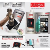 Ubox Anti-Smash 0.25mm HTC One X - One X Plus