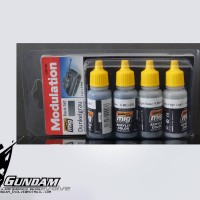 MIG Modulation Set (4x17ml) : Dunkelgrau