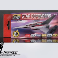MIG Acrylic Set (6x17ml) : Star Defenders Sci-fi Colors