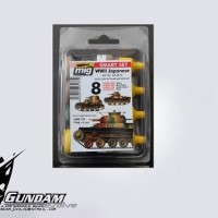 MIG Smart Set (4x17ml) : WWII Japanese AFV Early Colors