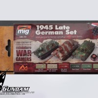 MIG Acrylic Set (6x17ml) : Wargame 1945 Late German Set