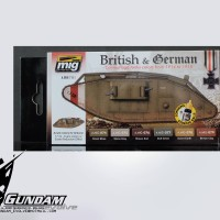 MIG Acrylic Set (6x17ml) : WWI British & German Colors