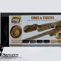 MIG Acrylic Set (6x17ml) : Tires & Tracks