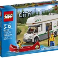 Toys LEGO City Camper Van 60057