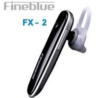 FineBlue Single Earphone Bluetooth Headset - FX-2 - Black