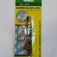 harga kunci etalase kaca sellery Tokopedia.com