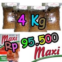 Jual makanan kucing murah maxi cat food promo 4 kg Murah