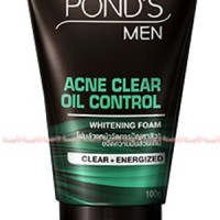 Pond's Men Acne Clear Oil Control Whitening Foam Pembersih Muka Ponds