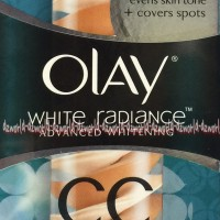 Olay White Radiance CC Cover And Correct Cream Medium Olay CC Original