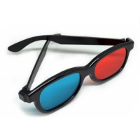 harga 3D Glasses Plastic Frame / Kacamata 3D - H3 - Black Tokopedia.com