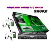 Murah !!! Microphone Mic Wireless Shure Ut 24 Co (Headset+ Clip On)