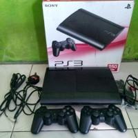 PS3 SUPERSLIM 250GB ODE + HDD EKSTERNAL 500GB FULL GAMES