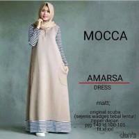 Amarsa Dress / Gamis / baju muslim / hijabers / hijab model baru