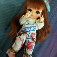 baju bjd untuk lati doll , bjd tiny dan ai bjd
