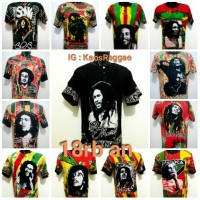 harga Kaos Pantai Reggae Rasta Bob Marley Jamaika Tokopedia.com