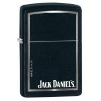 Zippo Original 218 Jack Daniels Black Matte 28820