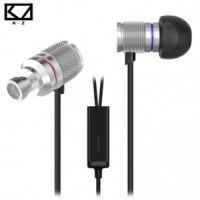 Knowledge Zenith HiFi IEM Earphones Metal Bass Sound + Mic - KZ-HDS3
