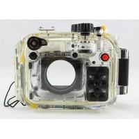 Meikon Waterproof Camera Case For Canon G15 - Transparent