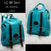Tas Lokal/Tas Murah/Tas Ransel/Tas Multifungsi/LC Backpack 3in1