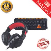 Marvo Combo Headset H8329+K328 Gaming Garansi Resmi