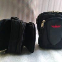 tas sarung dompet selempang pinggang smartphone HP gadget iphone 2in 1