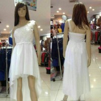 Dress import/Dress ekor/Party dress/Bridesmaid/Gaun pesta Korea