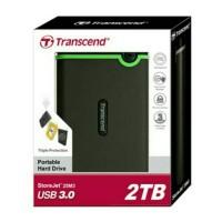 Transcend StoreJet 25M3 2TB : HD / Hardisk External Antishock USB 3.0