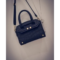 TAS SEMI FORMAL HITAM JALAN TANGAN HAND BAG KOREA IMPOR FASHION MURAH