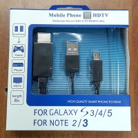 Mobile Phone For HDTV MHL To HDMI Media Adapter