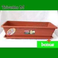 Pot Bunga Lion Star Trivetto M
